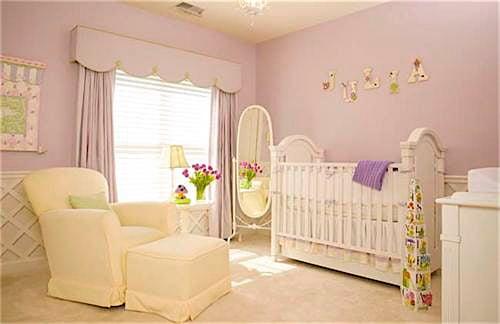 Lavender Baby Nursery Ideas