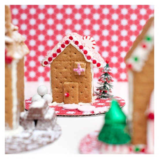Gingerbread House featured on Design Dazzle
