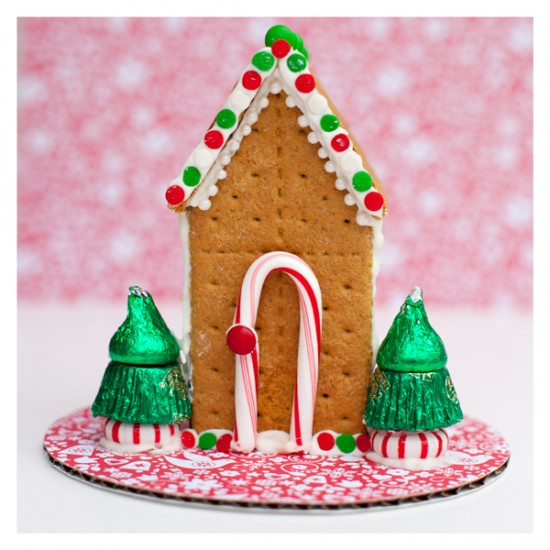 Gingerbread House Design featured on Design Dazzle