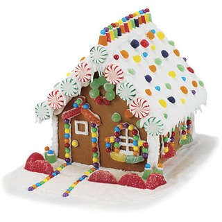 Beautiful Gingerbread House featured on Design Dazzle