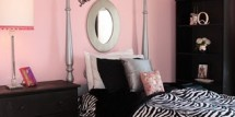 girls-pink-black-bedroom