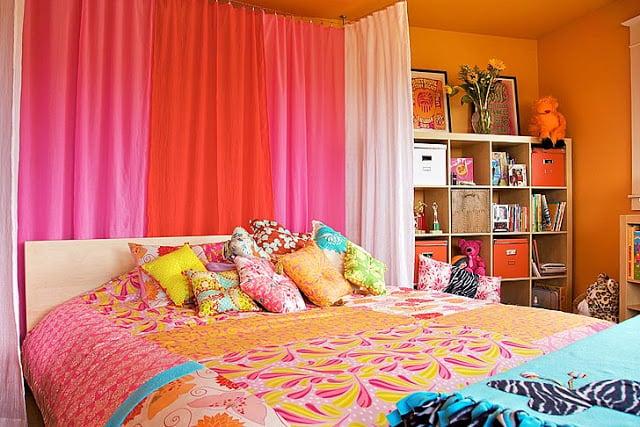 Teen Room: Orange & Pink Makeover - Design Dazzle