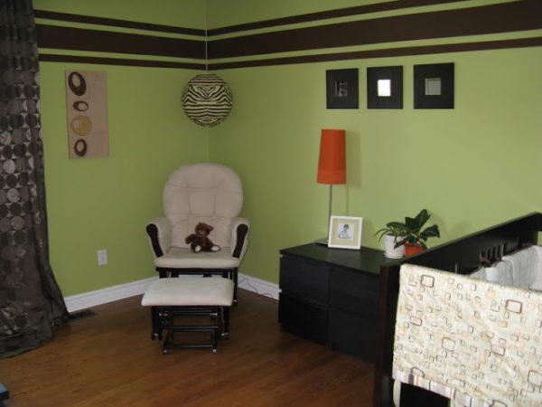 green_brown_baby_nursery_ideas