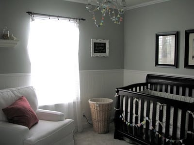 Baby Nursery: Silver Sage Paint Color