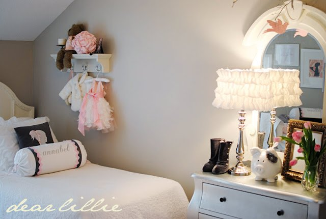 Bedroom paint designs for boys - This London Fog Grey Girls Room Is Simply Gorgeous I Love The Sweet