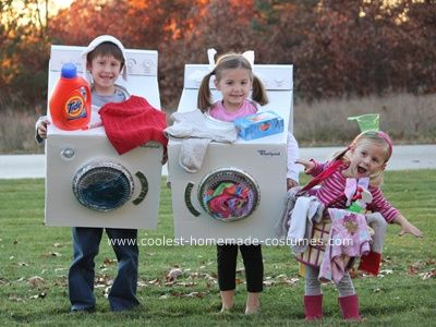 Kids Costume Ideas - Laundry  sc 1 st  Design Dazzle & Halloween Week: Kids Costume Ideas - Design Dazzle