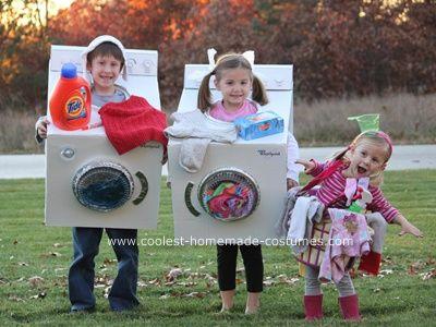 Kids Costume Ideas - Laundry