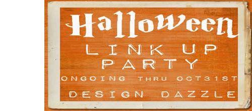 Halloween Link Up Party, Design Dazzle