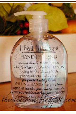 Clean Hands: Personalized Soap Dispensers