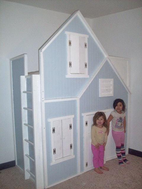 Playhouse Loft Bed Instructions Design Dazzle