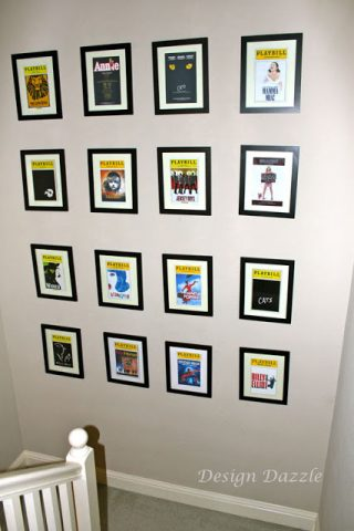 Playbills As Wall Art!