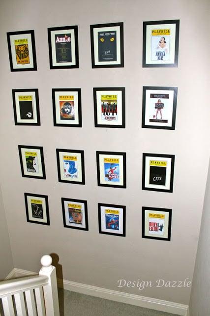 Playbills As Wall Art! - Design Dazzle