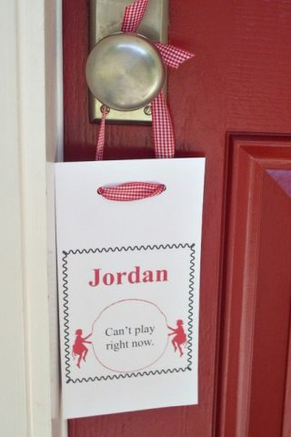 Playtime Door Hanger