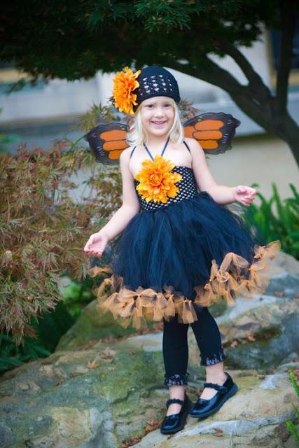 Halloween Costume Ideas, butterflies, monarch, toddlers