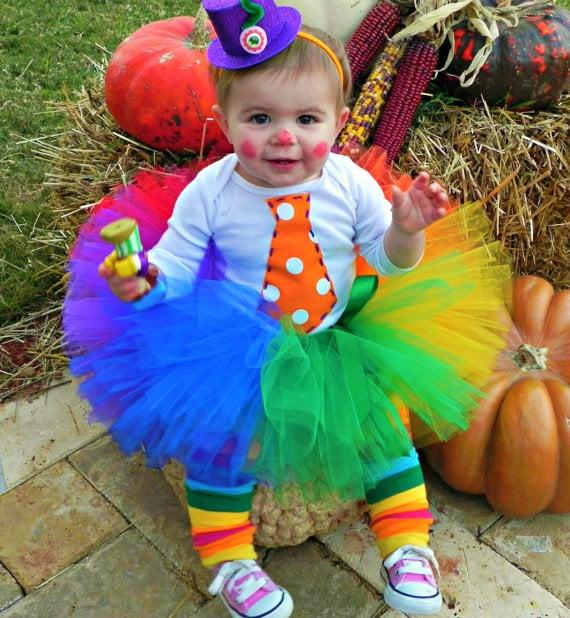 Kids Costume Ideas - Tutu Clown