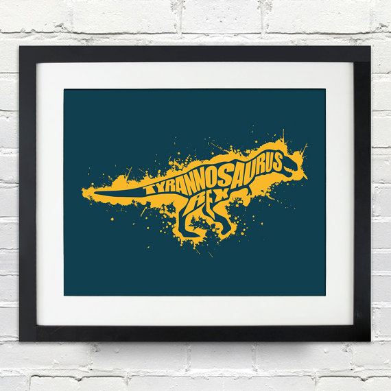 Giveaway: $50 Gift Certificate to Ink of Me Graphics Etsy Shop, dinosaur, giveaway, ink of me
