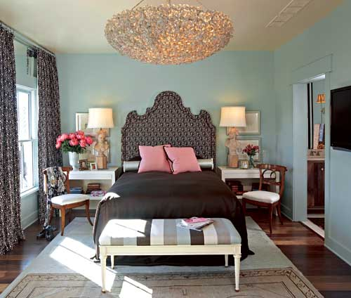 Glam teen rooms design dazzle Brown and green master bedroom ideas