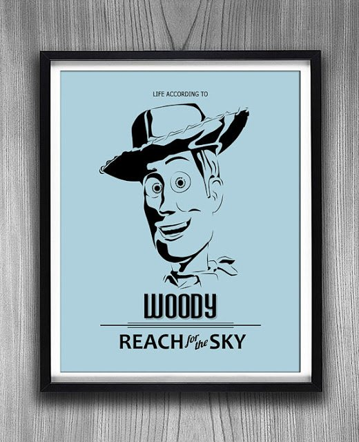 Giveaway: $50 Gift Certificate to Ink of Me Graphics Etsy Shop, woody, reach for the sky, giveaway, ink of me