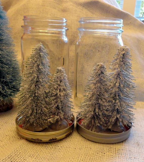Jar lid trees