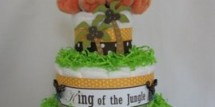 jungle_diaper_cake