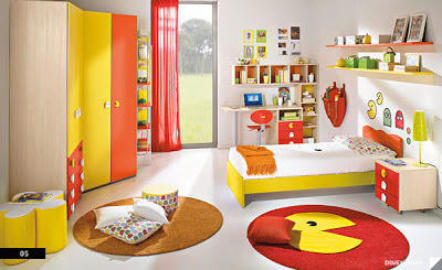 Kids video game themed rooms design dazzle - Kids game room ideas ...