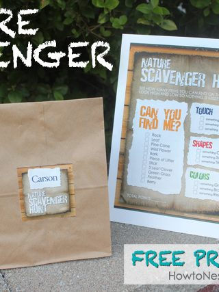 Summer Camp: Nature Scavenger Hunt & Link Up Party!