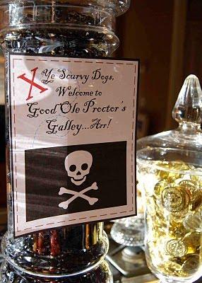 Pirate Party Palooza Design Dazzle
