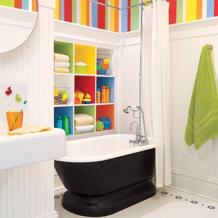 Beautiful Creating Kid Friendly Bathrooms!