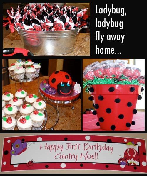 Ladybird Party Supplies