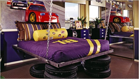 Car Themed Room For An Older Child.
