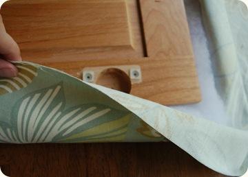 DIY - Memo Board From A Cabinet Door! - Design Dazzle