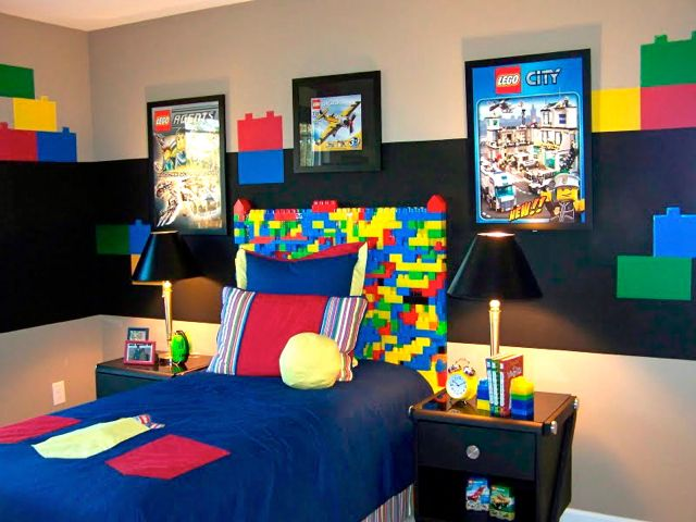 boy 39 s bedroom theme lego design dazzle