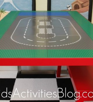 DIY: Lego Table & Organization