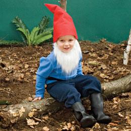 DIY Last Minute Costume Ideas, diy gnome costume, gnomes