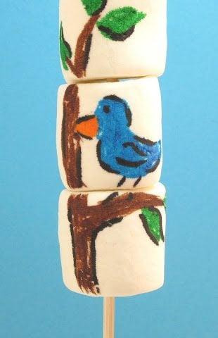 Marshmallow Art!!