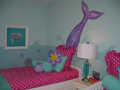 little mermaid room decorations girl 39 s mermaid room design dazzle