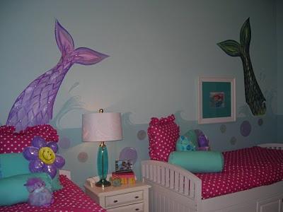 girl 39 s mermaid room design dazzle
