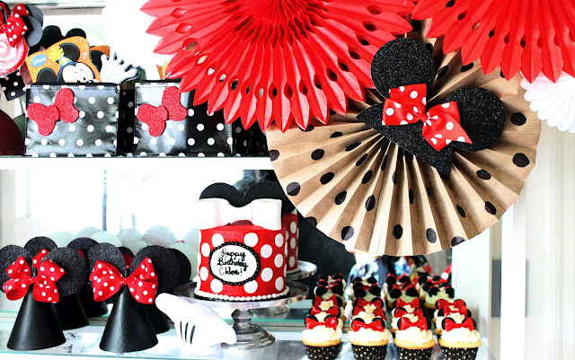Minnie Mouse Birthday Party Design Dazzle