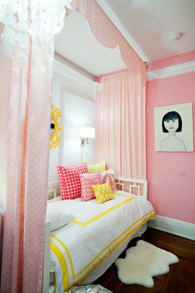 hip funky girls room design dazzle