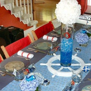 A Sip And See Nautical Baby Shower