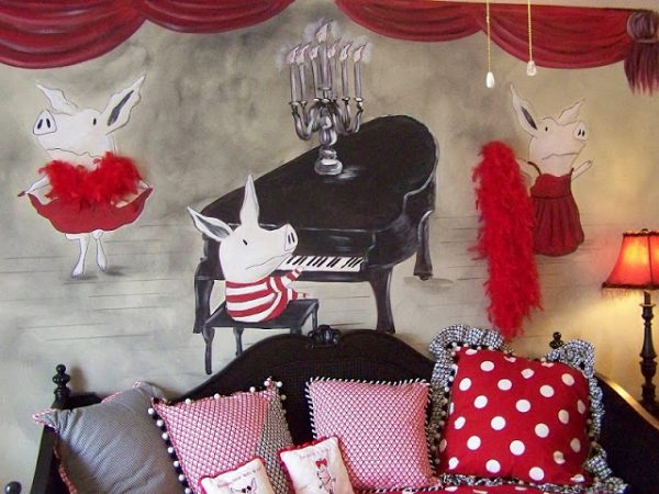 olivia_the_pig_storybook_red_black_room