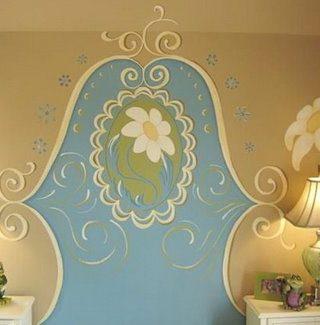 Wall Mural Headboard