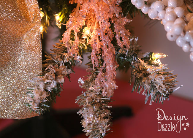 paint and decoupage a Christmas tree on Design Dazzle