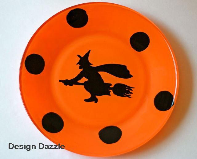 design dazzle make your own halloween plates - Halloween Plates Ceramic