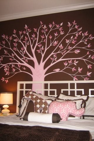 How to Paint Trees in a Kids Room