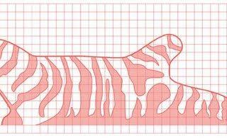 DIY – Zebra rug!