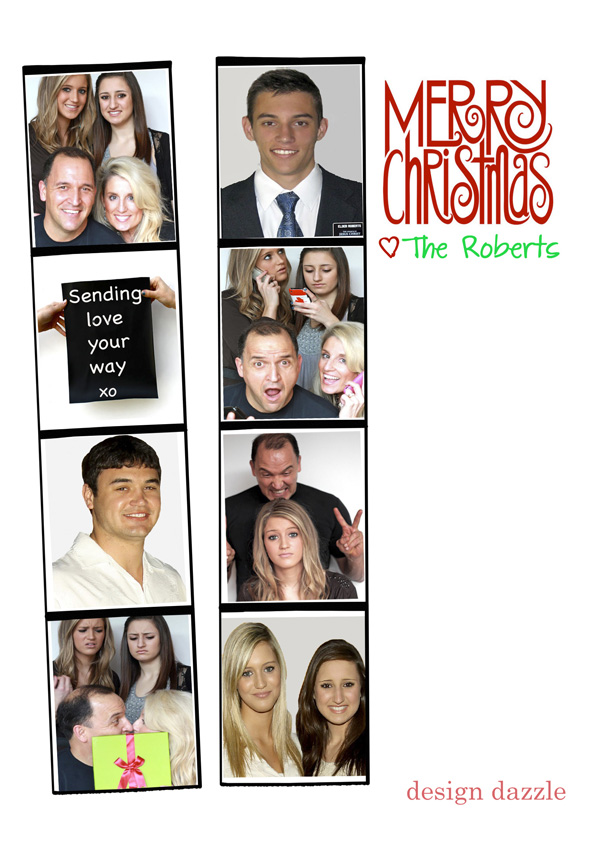 Family Christmas Card! Merry Christmas from Design Dazzle