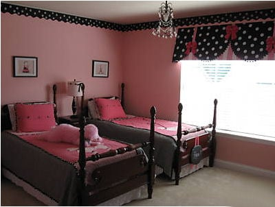 Pink & Black Girls Rooms - Design Dazzle