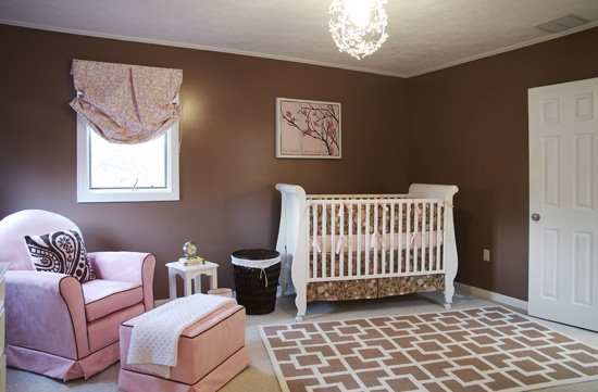Amazing ... Be Impressed By The Colors Pink And Brown U2013 Such A Favorite Color  Combo. Kristin DeMarco From Gifted Notions Design Studio Created This  Darling Nursery. Great Pictures