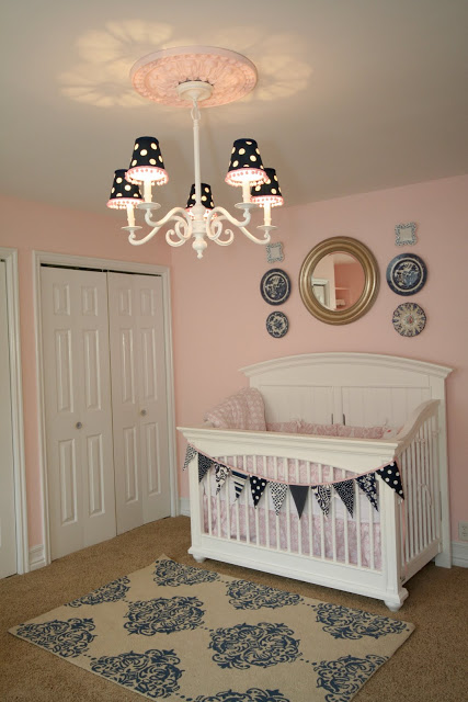 A Simple Chandelier Purchased At An Online Was Spray Painted Crisp White